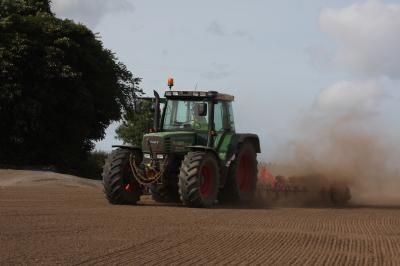 Topsoil preparation