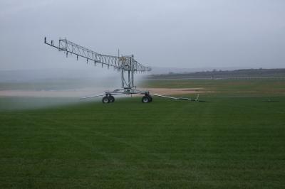 Briggs irrigator boom