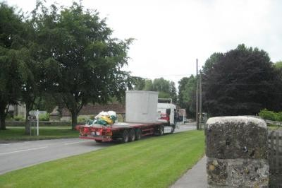 Delivery of second tank