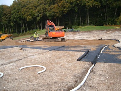 Installation of drainage to the 12th Green