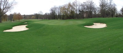 Completed works to 11th Green and surrounds