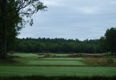 White Course, completed 13th Tees