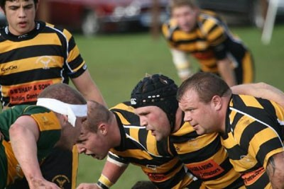 Letchworth Garden City RUFC in action