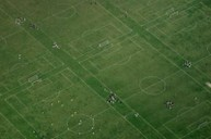 Hackney Marshes from the air