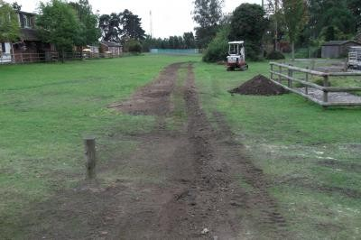 Reinstatement following cable installation