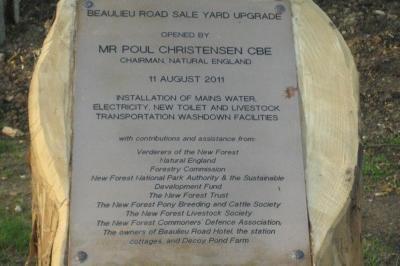 Site plaque