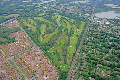 Aerial view of North Hants Golf Club