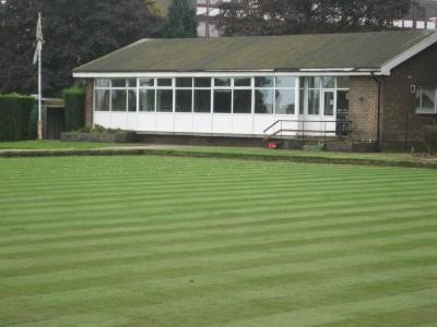Reconstructed bowling green surface