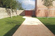 Completed walled garden, drive and Golpla areas