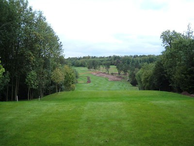 View from the old 5th Tees