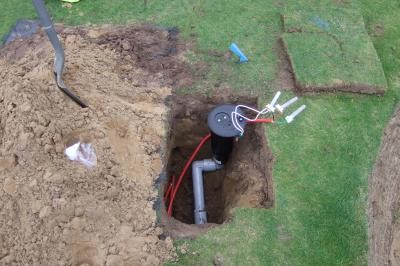 Installation of sprinkler
