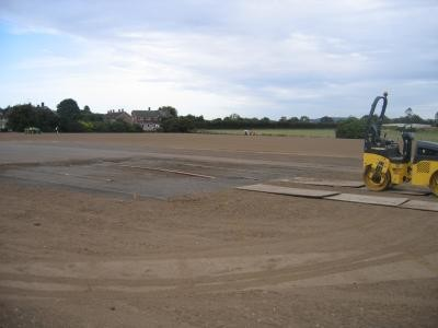 Cricket square construction