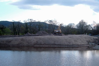 Construction of 3rd Green
