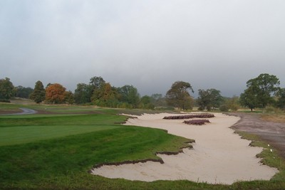 Completed 17th Fairway bunker