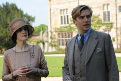 ITV filming at Greys Court for 3rd series of Downton Abbey (c) ITV