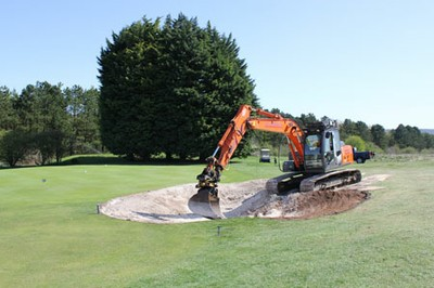 Re-constructing bunker