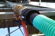 Tank drain pipe