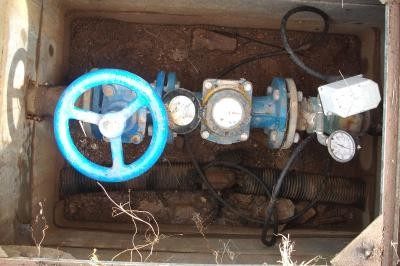 Water meter chamber