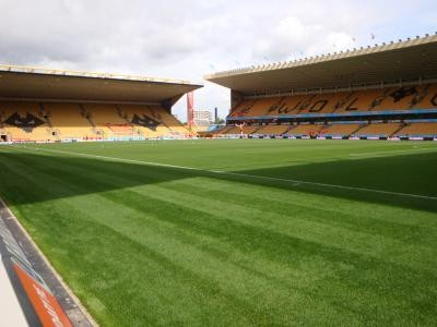 Pitch on match day