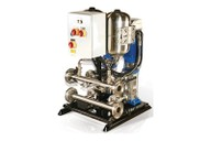 Twin pump variable speed booster system