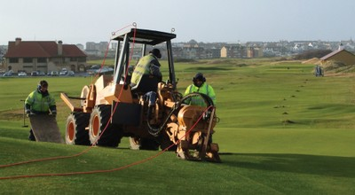 Fairways installation at Royal Portrush Golf Club