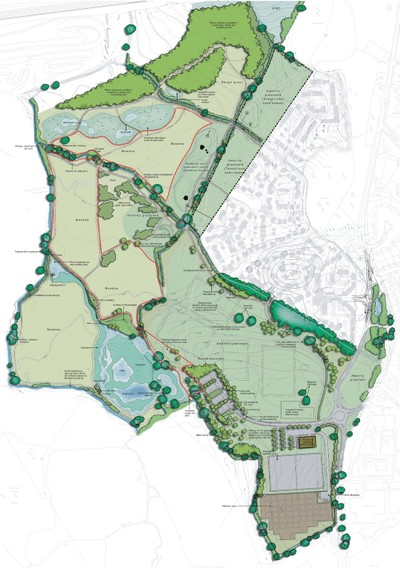 Edenbrook Country Park site plan