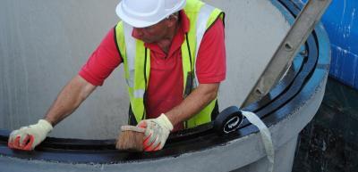 Installation of waterproof seals