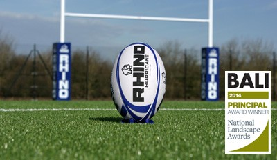 Rhino Turf 3G artificial pitch at London Irish training facility