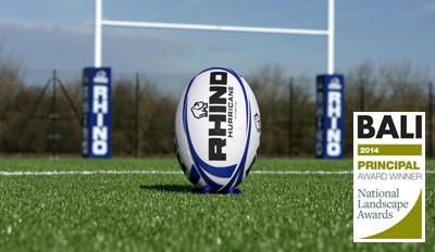 Rhino Turf 3G artificial pitch at London Irish training facility
